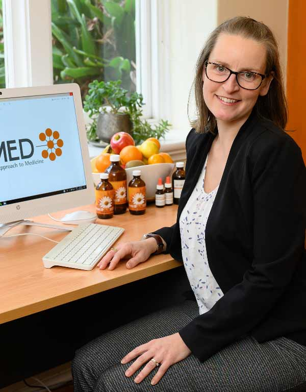 Free 20 minute consult at Remed - A woman having a consult with a naturopath