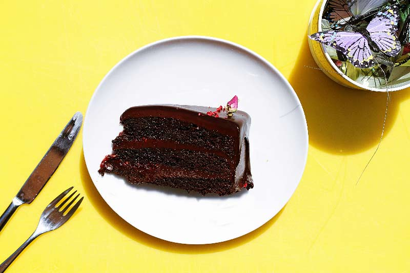 Super moist egg free Chocolate Cake
